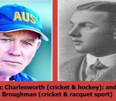 OLYMPIC MEDAL WINNING CRICKETERS